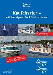 Kaufcharter – - Kuhnle-Tours