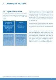 Verkaufsprospekt Kapitel 5: Wassersport als Markt - Kuhnle-Tours