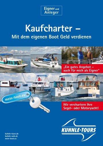 Hausboot-Kaufcharter - Mein Boot