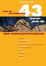 Ausgabe Nr. 43 - Gemeinde an der Peterskirche