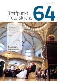 Ausgabe Nr. 64 - Pfingsten 2012 - Evangelische Gemeinde an der ...