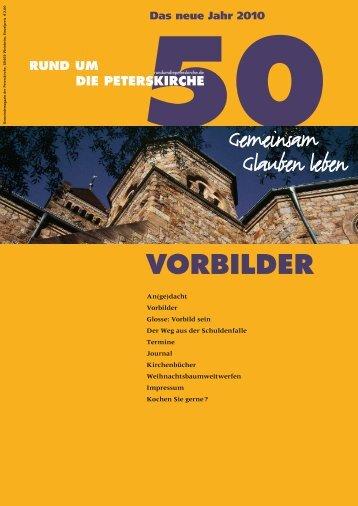 Ausgabe Nr. 50 - Evangelische Gemeinde an der Peterskirche ...