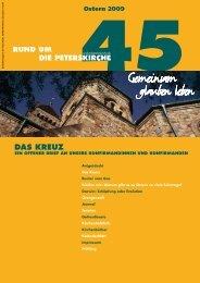 Ausgabe Nr. 45 - Evangelische Gemeinde an der Peterskirche ...