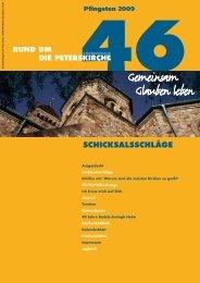 Ausgabe Nr. 46 - Gemeinde an der Peterskirche