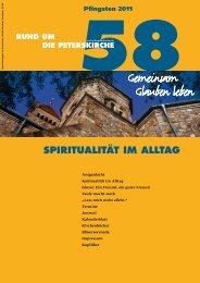 Ausgabe Nr. 58 - Gemeinde an der Peterskirche
