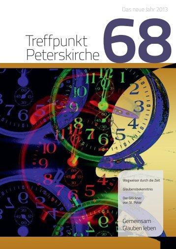 Ausgabe Nr. 68 - Das neue Jahr 2013