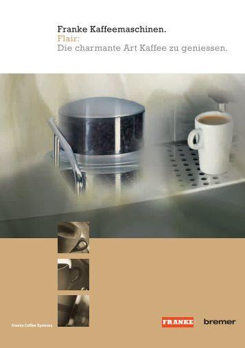 franke coffee systems sinfonia das genie der klassischen. Black Bedroom Furniture Sets. Home Design Ideas
