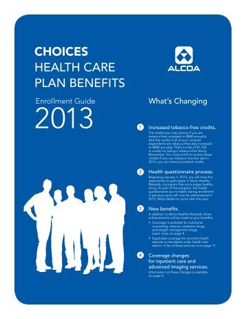 CHOICES HEALTH CARE PLAN BENEFITS - MyAlcoaBenefits