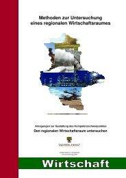 Methoden zur Untersuchung eines regionalen Wirtschaftsraumes