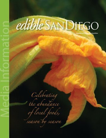 Download Edible San Diego Media Kit - Edible Communities