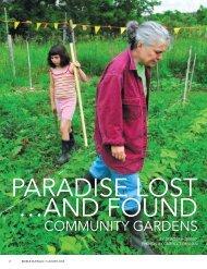 COMMUNITY GARDENS - Edible Communities