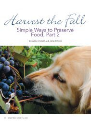 Harvest the Fall - Edible Communities
