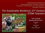21st Century STEM Teachers - International Technology and ...