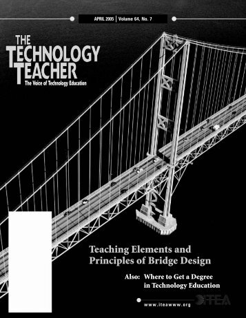Teaching Elements and Principles of Bridge Design - International ...