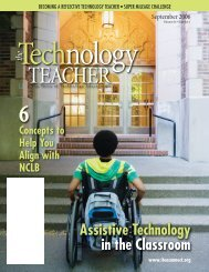 September 2006 - Vol 66, No 1 - International Technology and ...