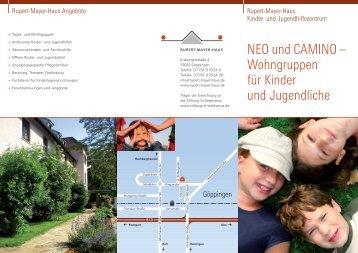 NEO und CAMINO - Rupert-Mayer-Haus