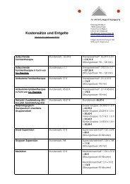 Kostensätze und Entgelte Stand Februar 2013 - Rupert-Mayer-Haus