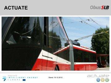 actuate - Rupprecht Consult