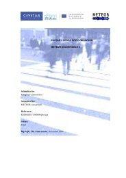 METEOR - Final Cross Site Evaluation Report - CIVITAS