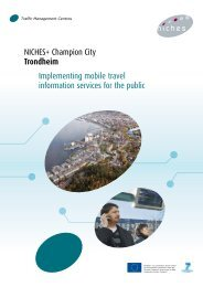 Mobile Travel Information Services for the Public - Rupprecht Consult