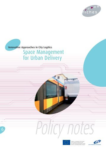 Policy note on Space Management for Urban Delivery