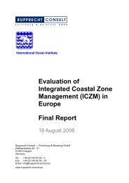 Evaluation of Integrated Coastal Zone Management (ICZM) in ...