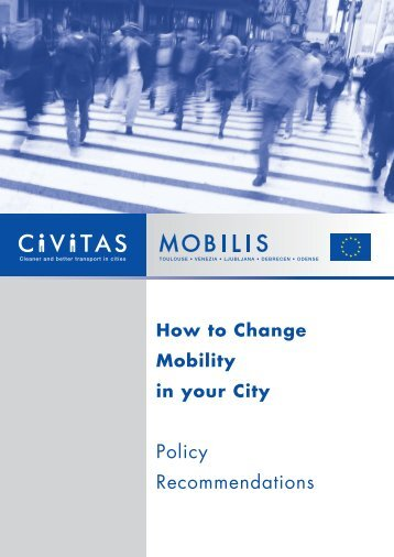 MOBILIS Policy Recommendations - Rupprecht Consult