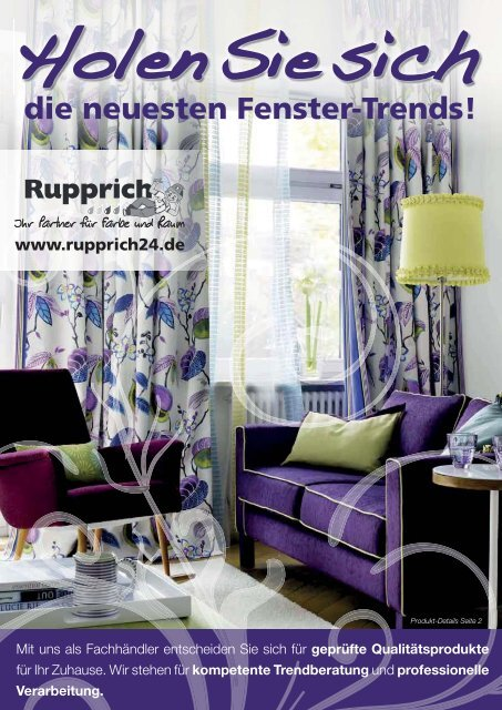 die neuesten fenster trends rupprich markt schwaben. Black Bedroom Furniture Sets. Home Design Ideas