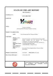 VOYAGER State-of-the-Art Report - Rupprecht Consult