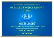 DPR IWMP-10 - Commissionerate of Rural Development Gujarat State