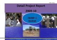 IWMP-1 - Commissionerate of Rural Development Gujarat State ...
