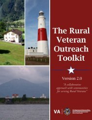 The Rural Veteran Outreach Toolkit Version 1.5 - VHA Office of ...