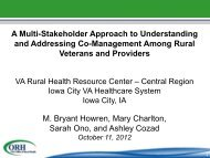PDF Version for Accessibility - VHA Office of Rural Health