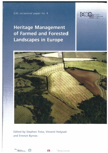 Heritage Management of Farmed and Forested ... - Ruralia
