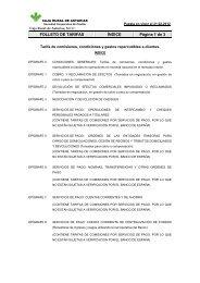 Folleto de tarifas máximas. - Caja Rural de Asturias