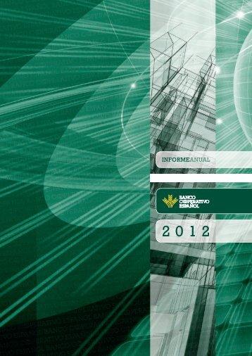 Informe Anual 2012 completo - Ruralvía