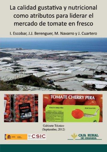 la calidad gustativa y nutricional como atributos para - Caja Rural de ...