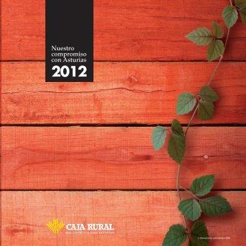 Descarga desde aquí nuestra memoria en pdf de la Obra Social 2012