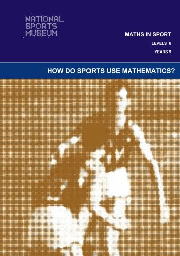 HOW DO SPORTS USE MATHEMATICS? - Melbourne Cricket Ground