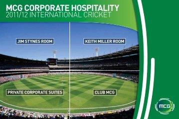 PDF version - Melbourne Cricket Ground