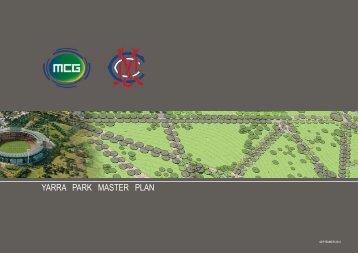 YARRA PARK MASTER PLAN - Melbourne Cricket Ground