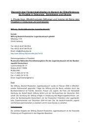 Übersicht über Fördermöglichkeiten im Bereich ... - Rusdeutsch.EU