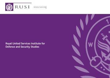 RUSI Membership A5 re-sized