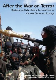 After the War on Terror: Regional and Multilateral - RUSI