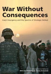 War Without Consequences (2008) - RUSI