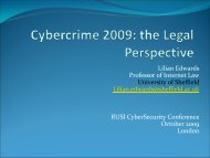 Cybercrime: The Next Generation - RUSI