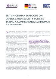 Taking a Comprehensive Approach, March 2009 (PDF ... - RUSI
