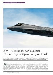 F-35 – Getting the UK's Largest Defence Export Opportunity ... - RUSI