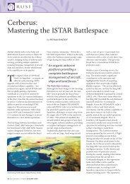 Cerberus: Mastering the ISTAR Battlespace - RUSI