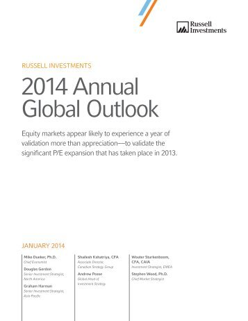 Russell Investments 2014 Annual Global Outlook